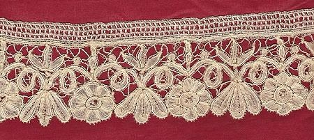Hand Made Belgian Brussels lace