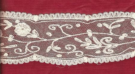 Hand Made Belgian Brussels appliqu lace