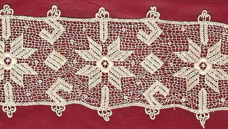 Machine Made Lace by Leavers Mill