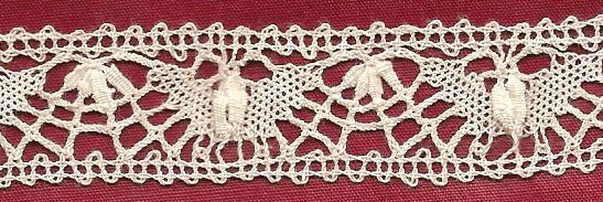 Hand made lace English cluny 5/8 inch wide by available 20 yards