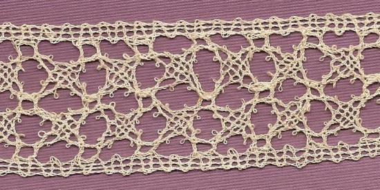 Fabulous Belgian Torchon hand made lace.