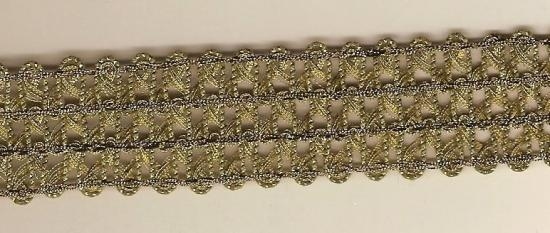 GOLD BOUILLON TRIM FROM EUROPE LATE 19TH CENTURY 3