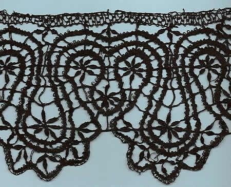 Handmade French LePuy Bobbin lace