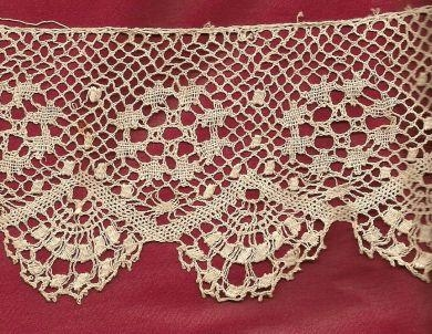 CROCHET FINE NET LACE
