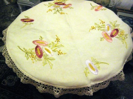 SILK SOCIETY TO ARTS AND CRAFT 36 INCH ROUND