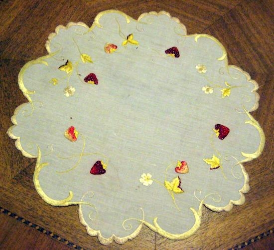 SILK SOCIETY GOLDEN STRABERRIES 14 INCH