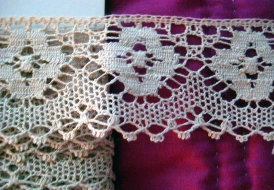 Antique English Machine Cotton Lace 2 MM128