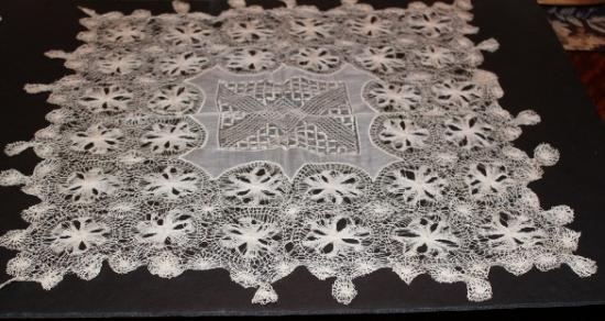Tenerife Lace Wedding Hankie/ Table topper
