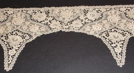 Machine made stunning lace trin 9 x 42 inches