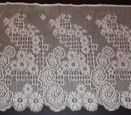 Machine made beautiful French lace  10  x 2 yards