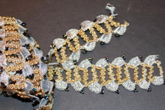 Vintage Trim gold and silver #8