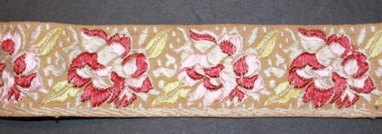 Antique ribbon trim #12 Stunning 1 3/8 inches wide