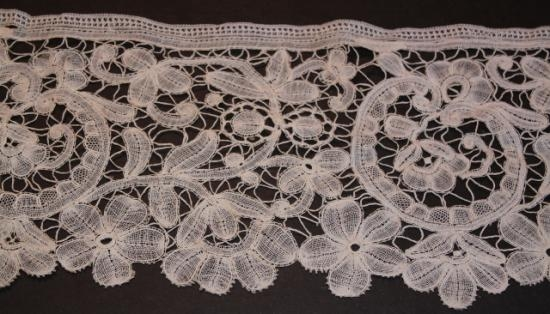 Handmade Brussels lace 6 wide #1000