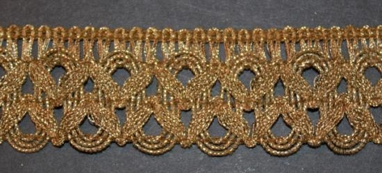 Antique Gold Italian trim #6 3yards