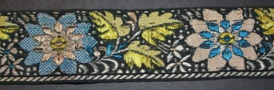 Antique handwoven trim # 26