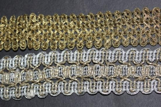 Antique gold trims 2 yards #35