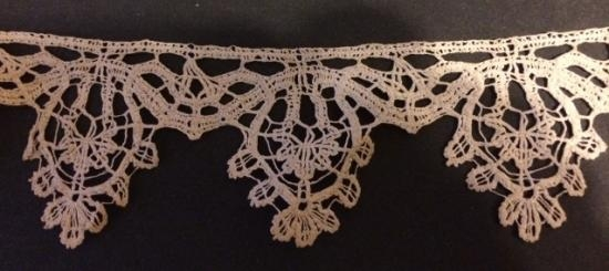 Handmade very early Flemish Lace1600's
