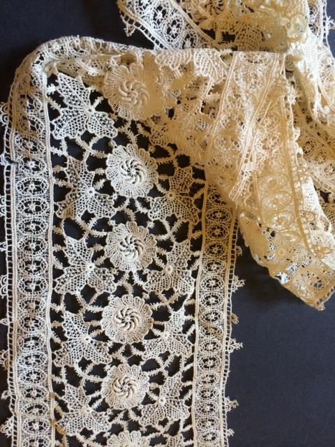 Machine made Schiffli Net Lace stunning Trim#184