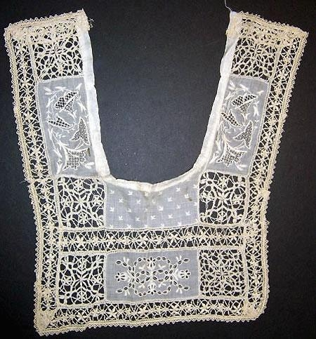 Handmade 1700s incredible lace piece